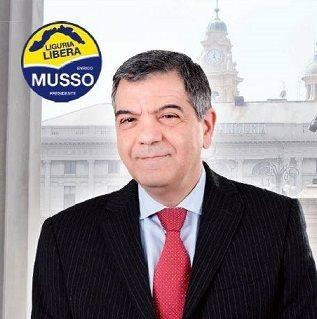 Intervista a Giuseppe Murolo, candidato per Liguria Libera, Enrico Musso Presidente