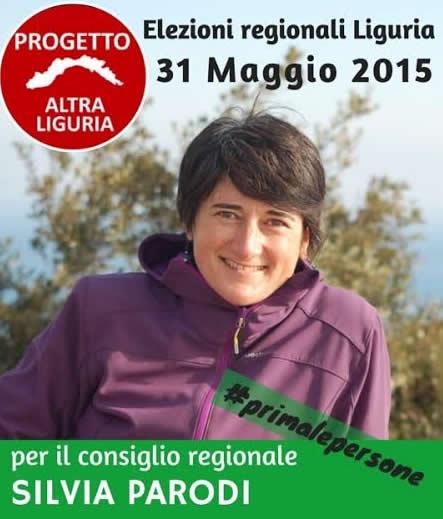 Intervista a Silvia Parodi, candidata per Altra Liguria al Consiglio Regionale